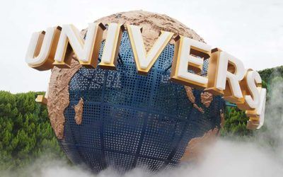 Magic and Halloween at Universal Studios Japan