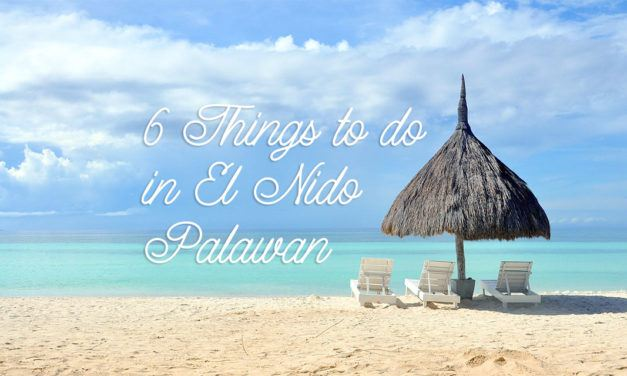 6 things to do in El Nido