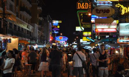 The Backpackers' Area in Bangkok — Khaosan Road