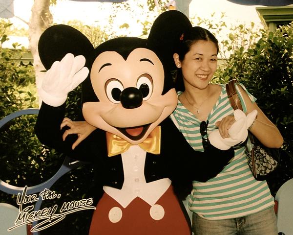Mickey Mouse HK Disneyland 2005