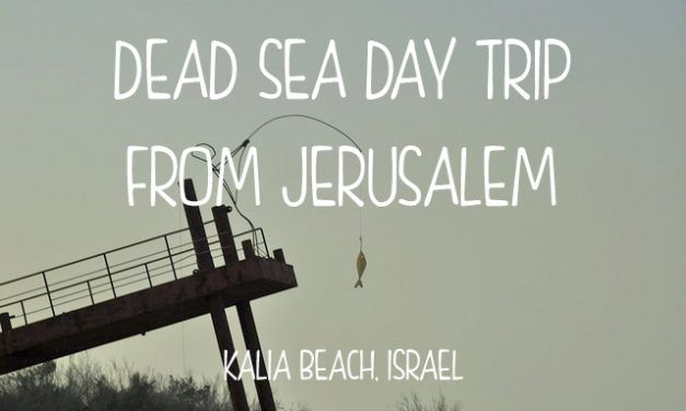 Dead Sea Day Trip from Jerusalem
