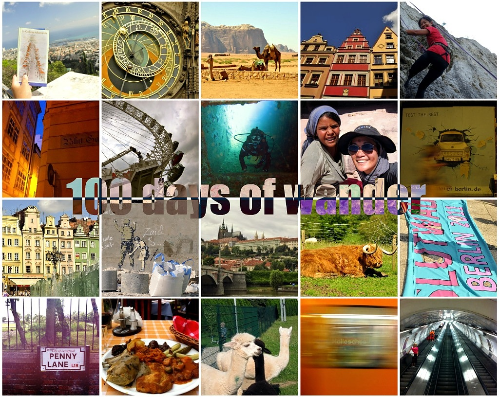 100th day of traveling