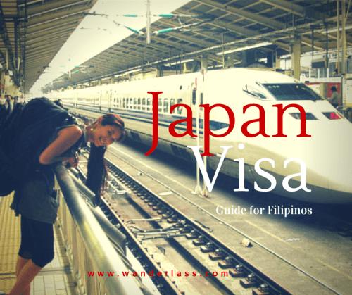 Japan Visa for Phililppine Passport Holder Guide