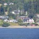 quaint little town San Juan Islands