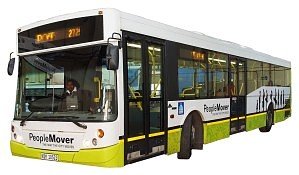 People Mover Bus in Durban