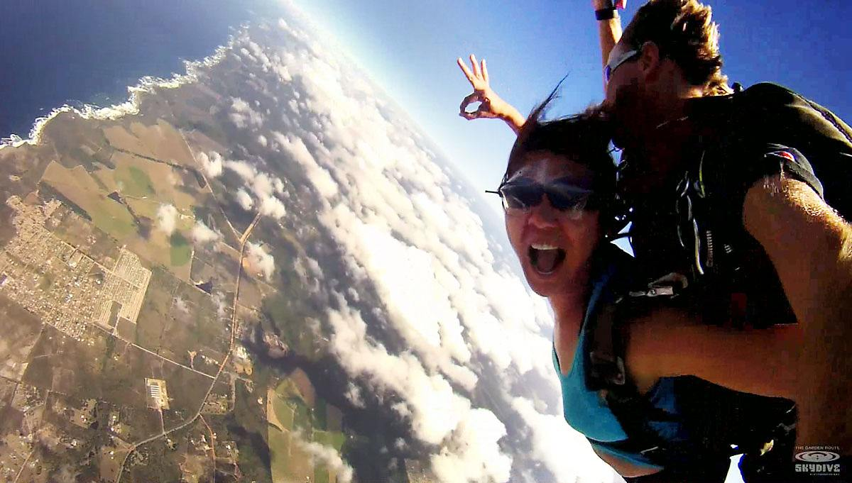 Skydiving Plettenberg Bay South Africa