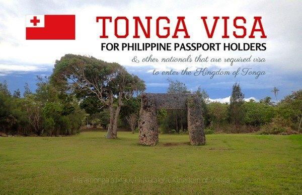 APPLY TONGA VISA