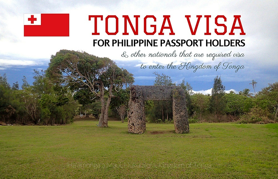 How to Apply Tourist Visa to Tonga