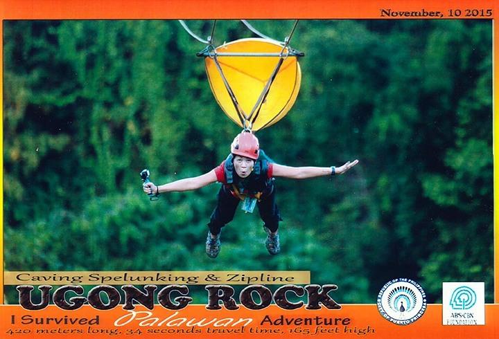 Ugong Rock Zip Line