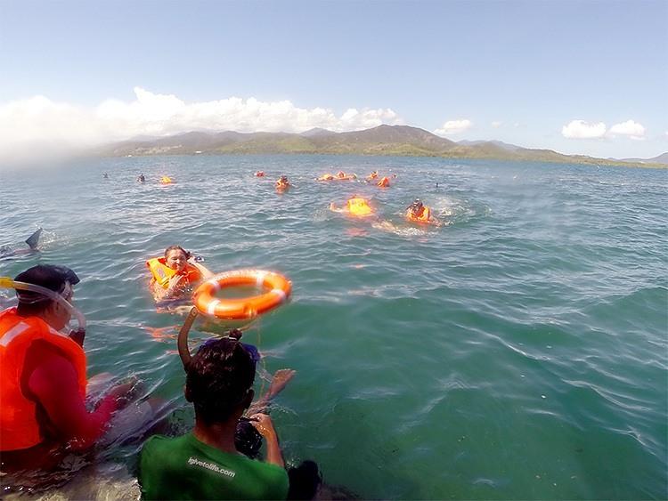Pambato Reef Snorkelers