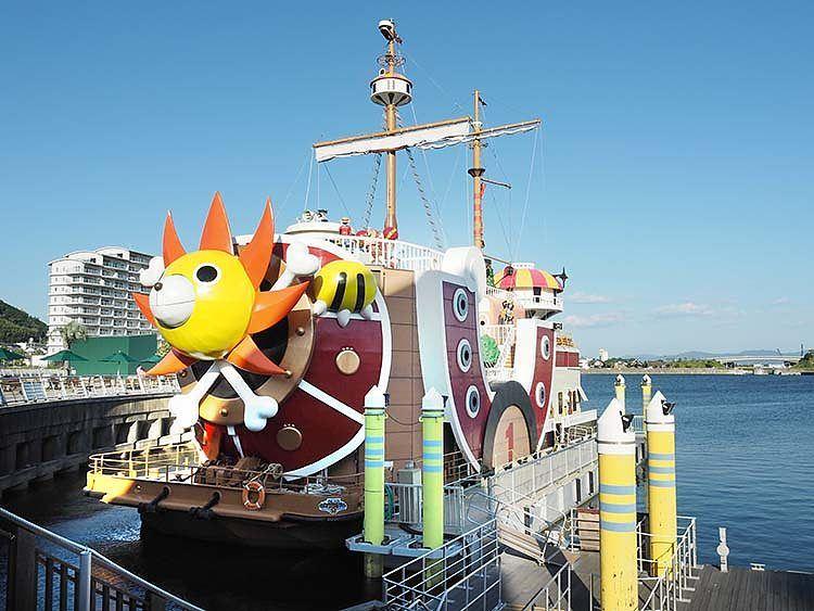 One Piece Thousand Sunny Ship