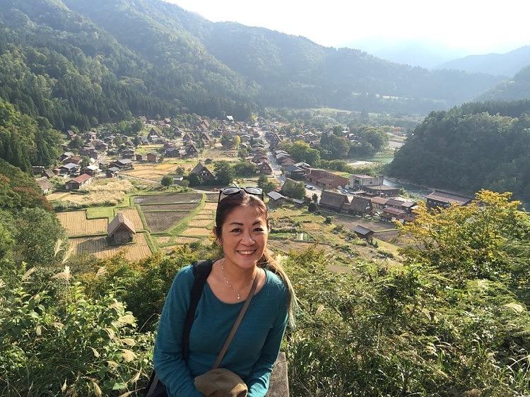 Shirakawa-go View from the Top
