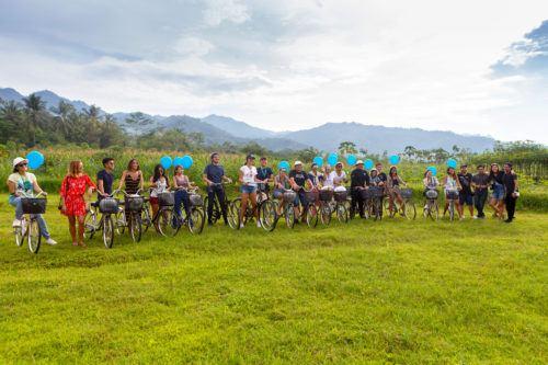 borobudur village biking
