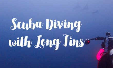 Scuba Diving with Long Fins