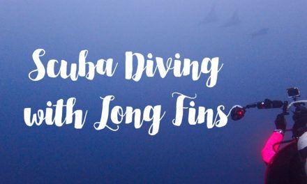 Scuba Diving with Long Fins
