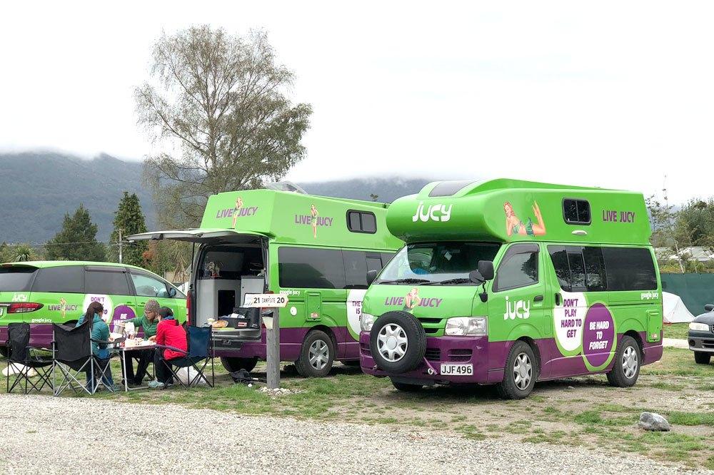 jucy camper vans