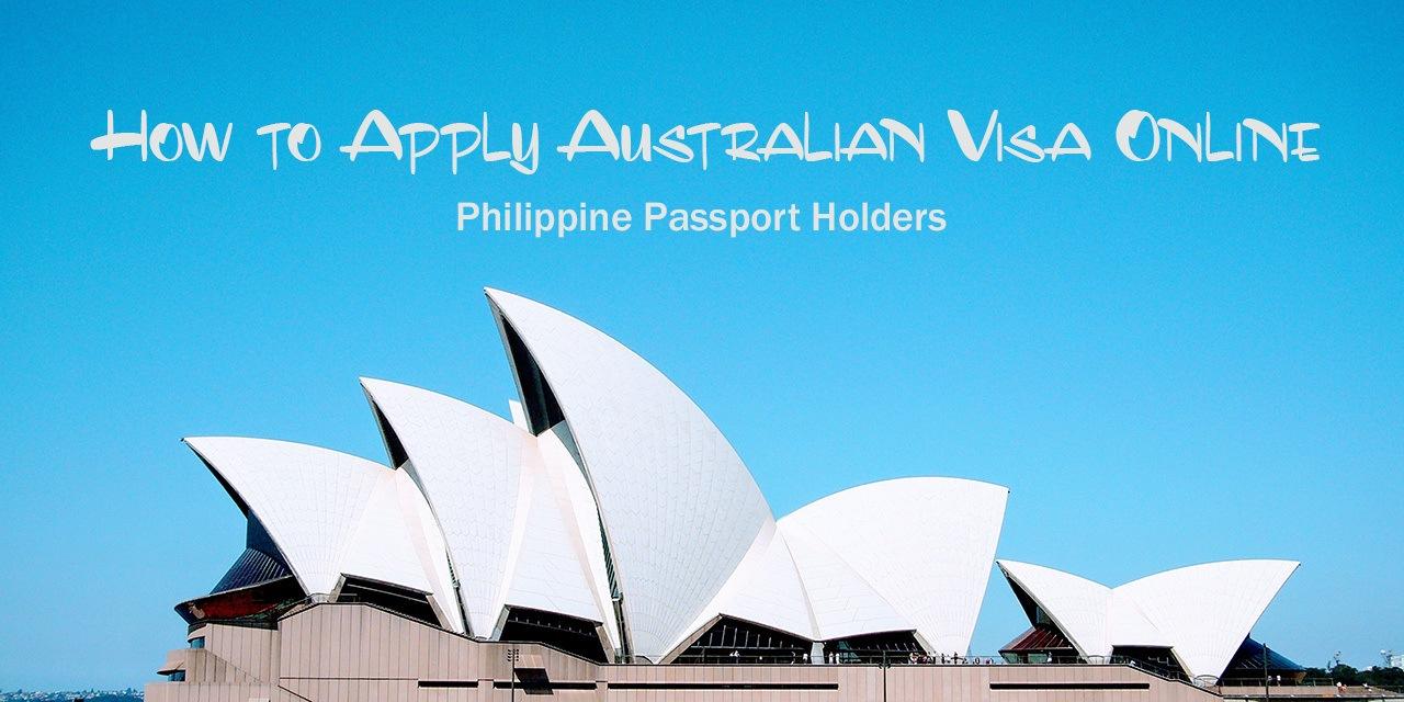how to apply australia visa online
