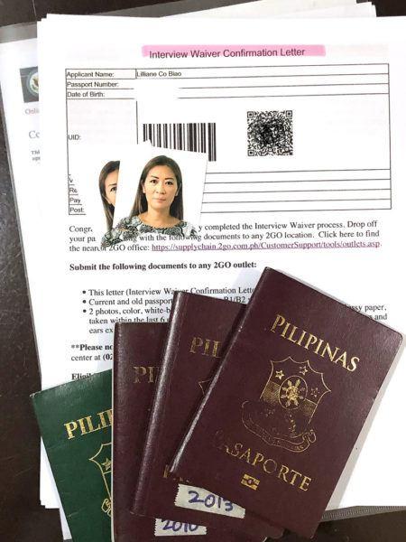 waiver us visa dropbox