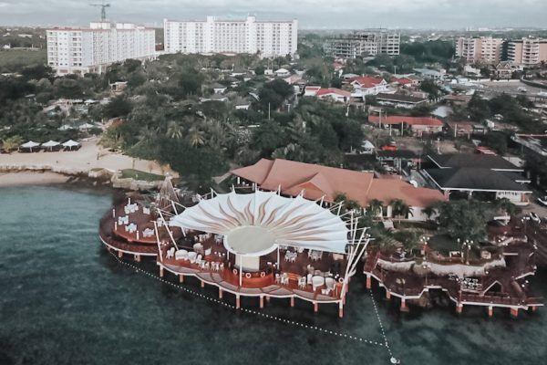 Jpark Island Hotel Aerial Shot